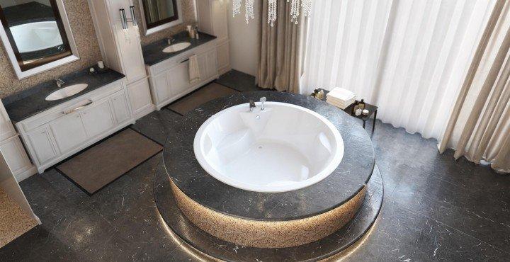 Vasca Da Bagno Bassa : Vasche da bagno ad incasso