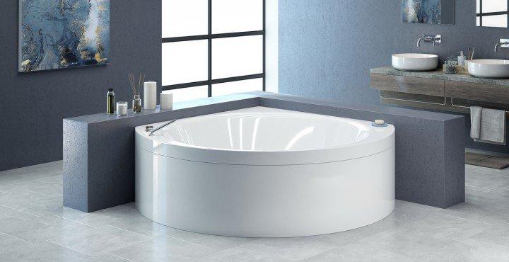 Vasca Da Bagno Angolare Chiusa : Vasche da bagno ad angolo
