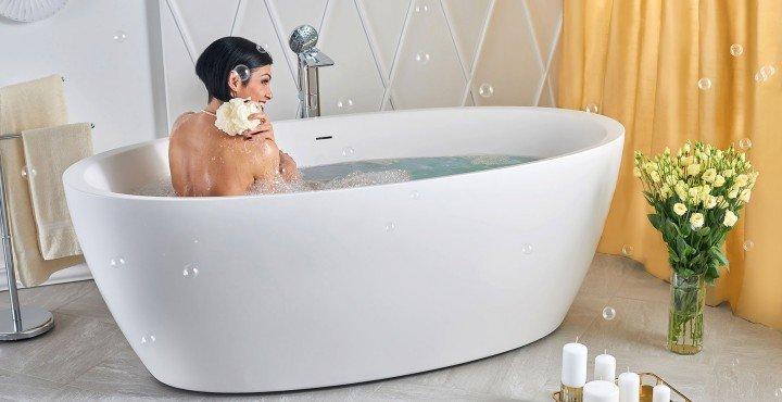 Vasca Da Bagno 180 100 : Vasche da bagno in pietra