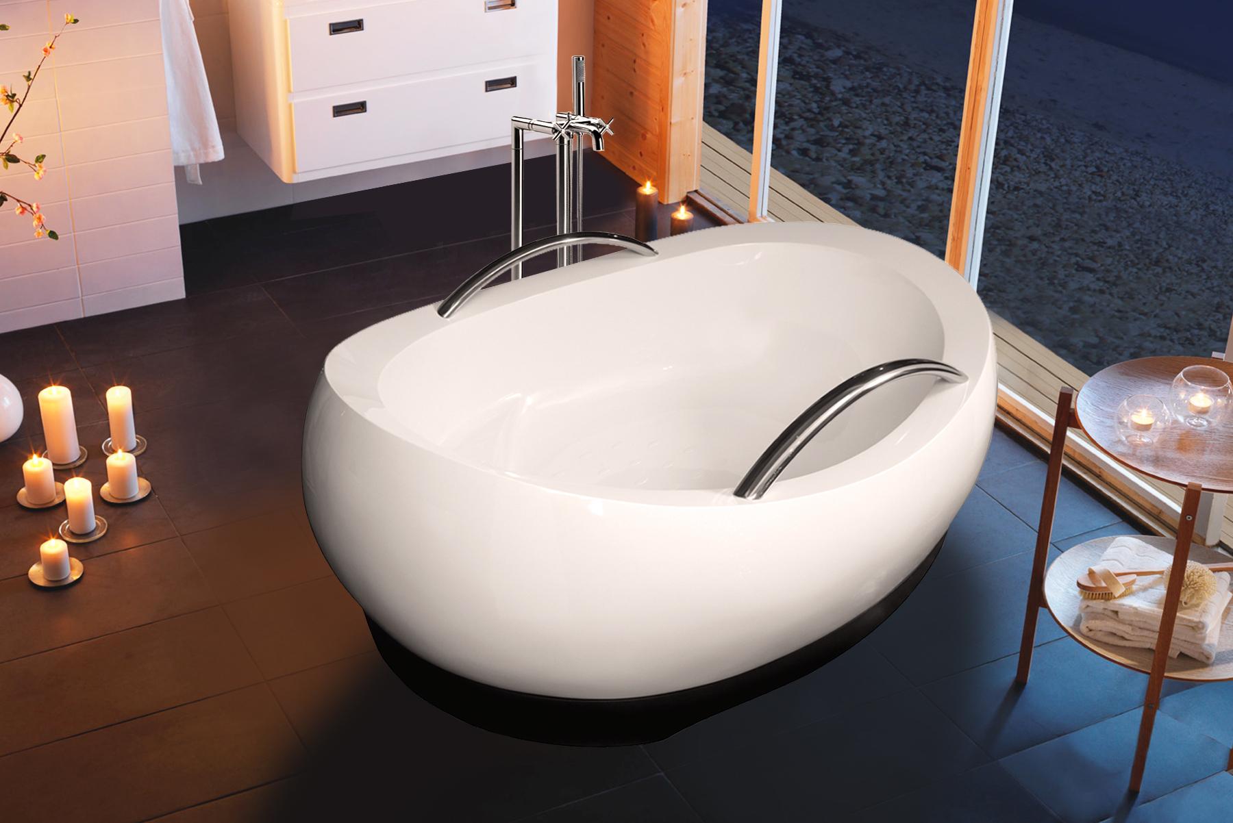 Vasca Da Bagno Disegno : Vasca da bagno indipendente admireme di aquatica in pietra leggera