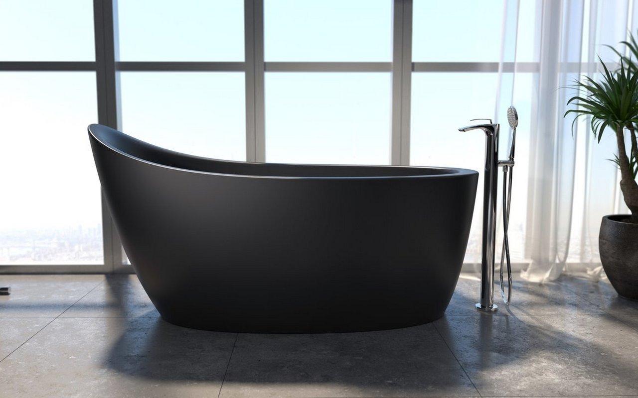 Vasca Da Bagno Per Due : Emmanuelle la vasca da bagno freestanding di aquatica in pietra
