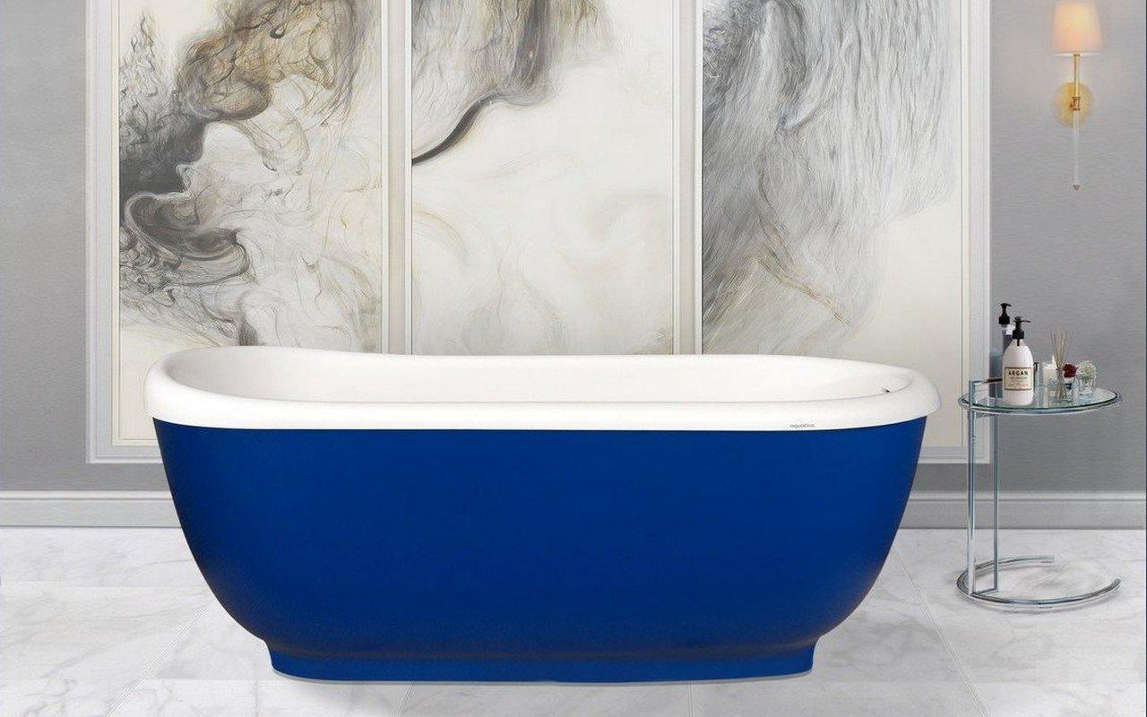 Fido blue la vasca da bagno freestanding in pietra di - Vasca da bagno in pietra ...