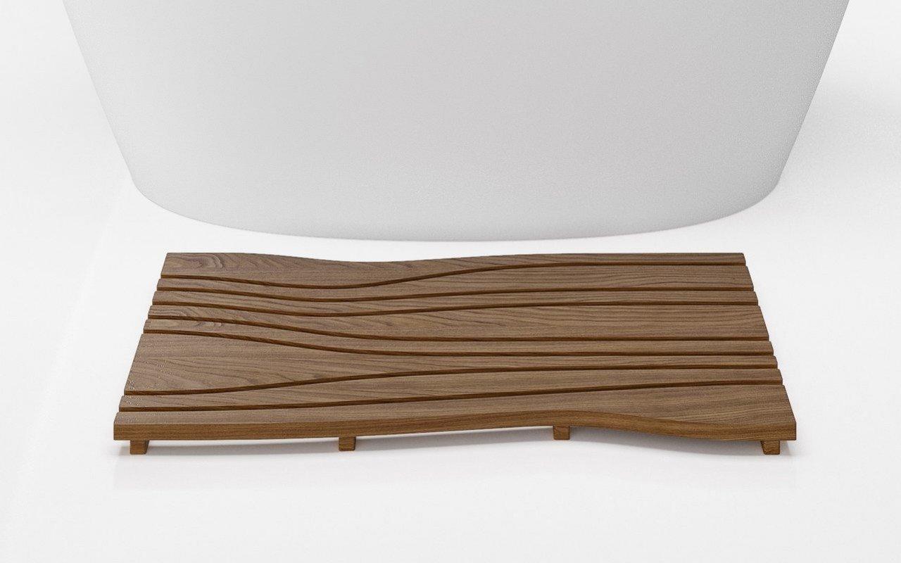 Aquatica Onde Waterproof Teak Wood Floor Mat 03 (web)