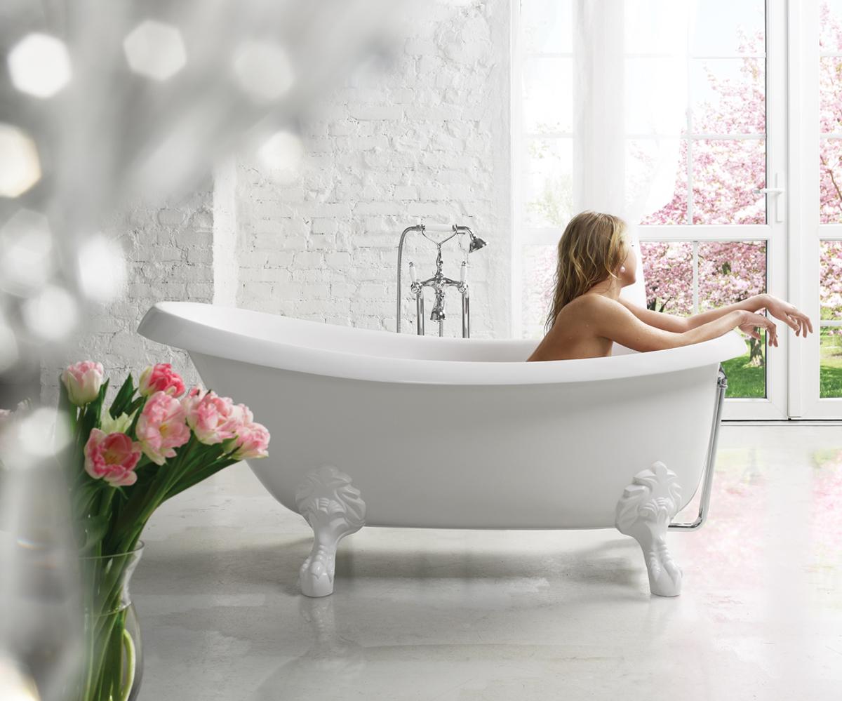 Vasca Da Bagno Occasione : Nostalgia la vasca da bagno freestanding di aquatica in pietra