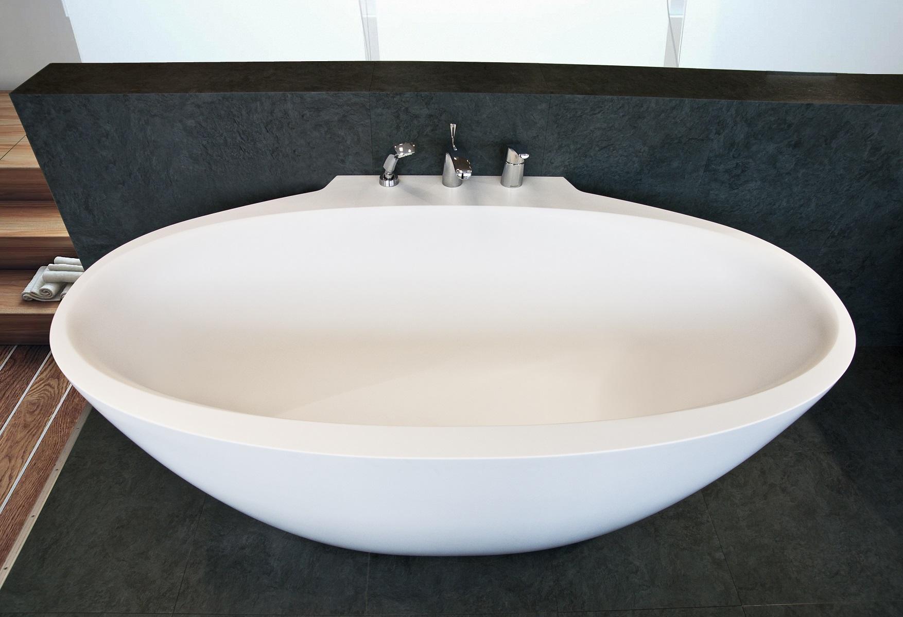 Sensuality Mini-W-Wht, la vasca da bagno freestanding di Aquatica ...