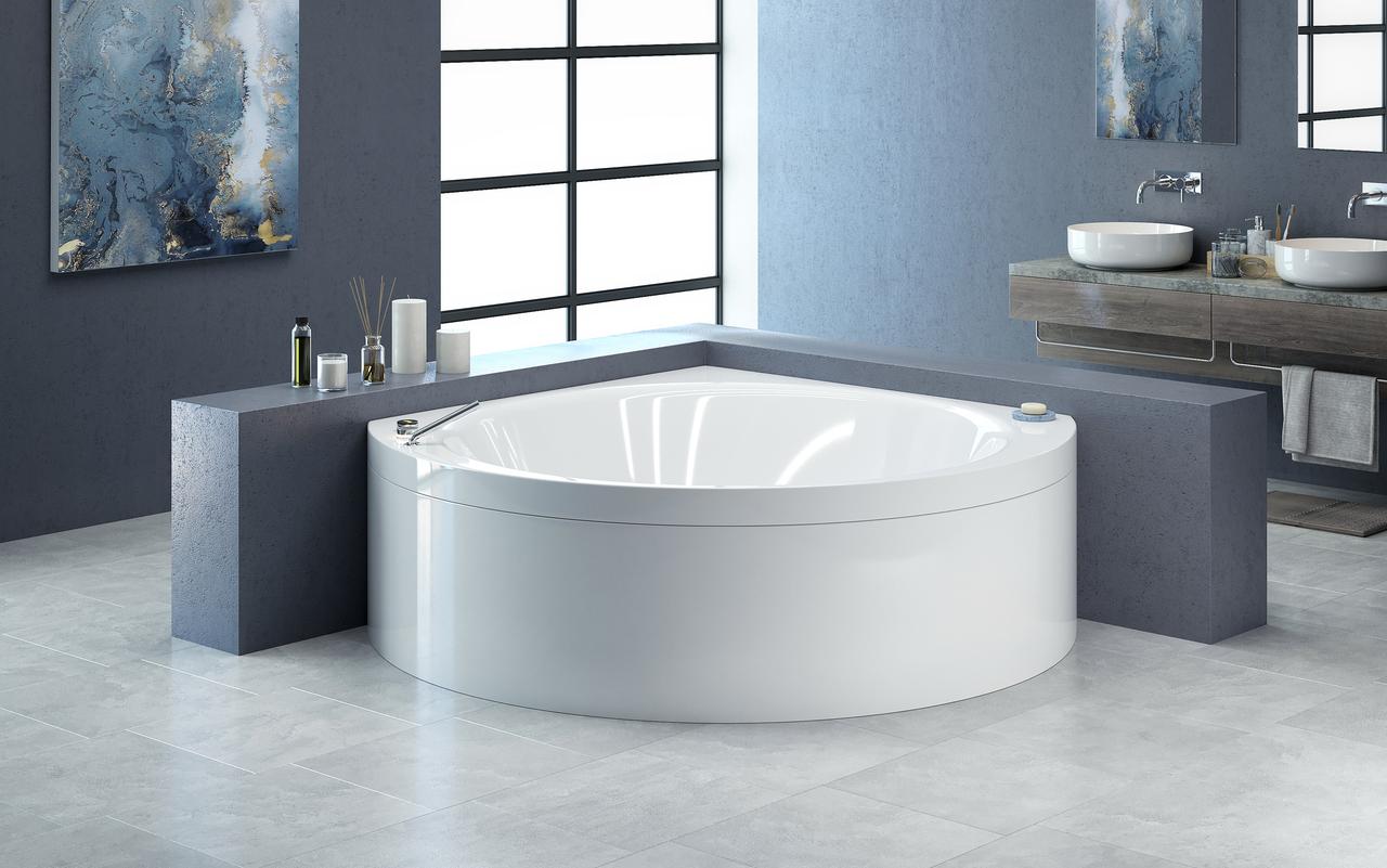 Suri wht la vasca ad angolo di aquatica in acrilico for Vasca per tartaruga acquatica