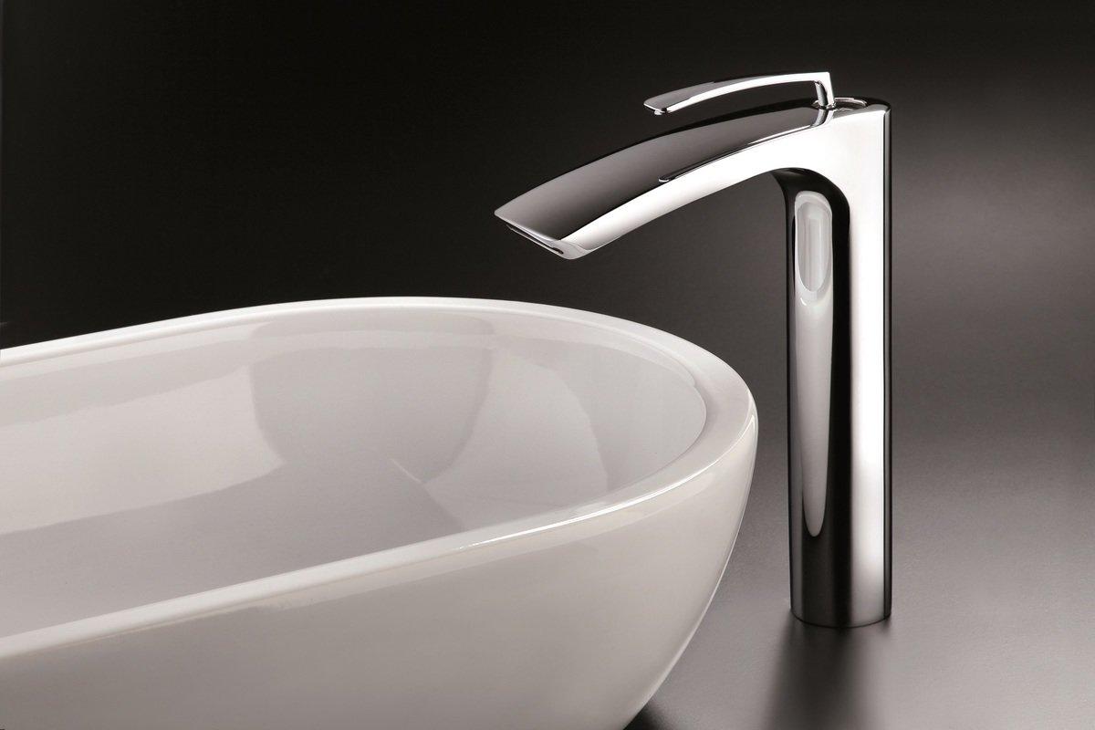 Bollicine 228 Sink Faucet Chrome by Aquatica (1) (web)