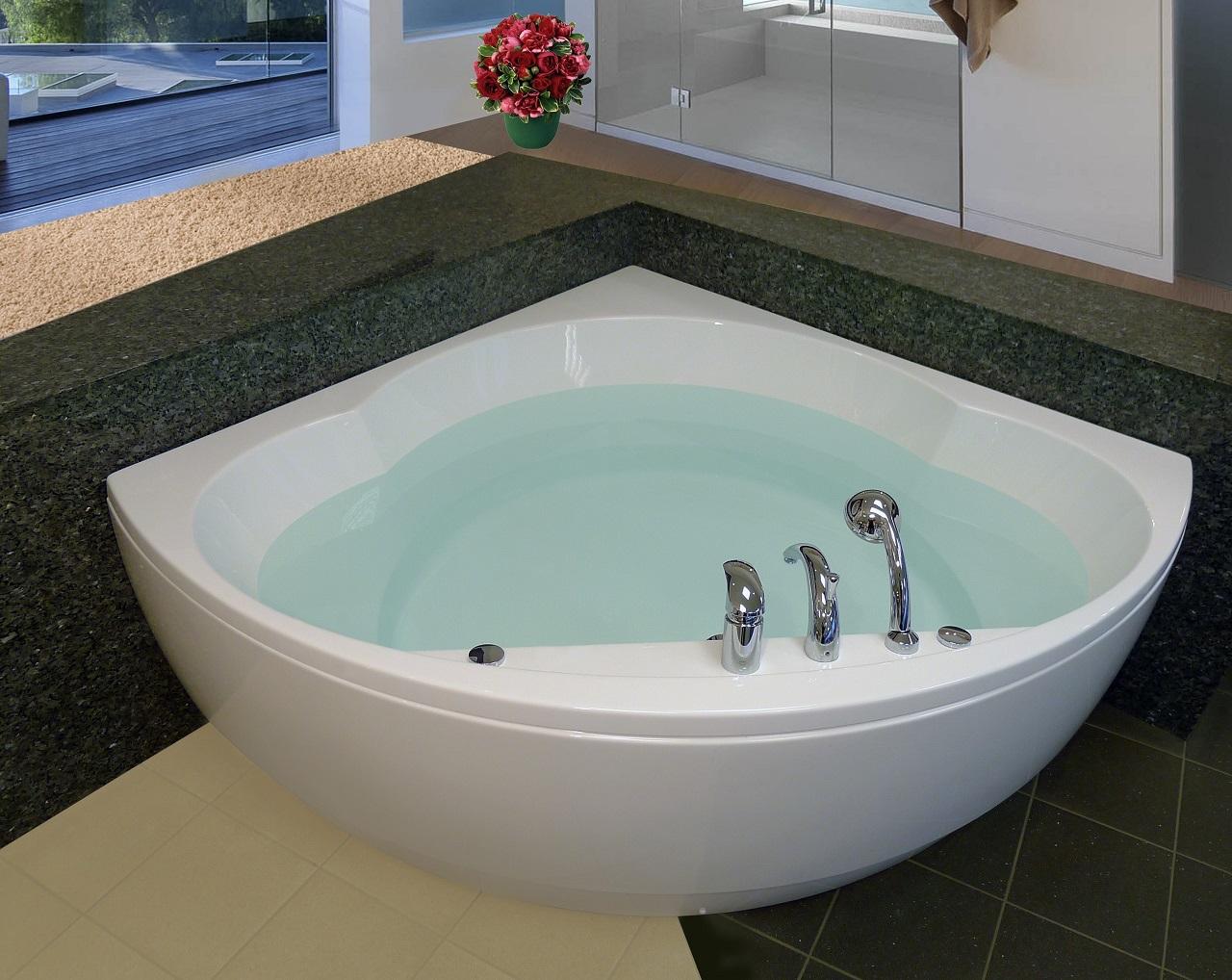 Vasca angolare misure vasche da bagno angolari vasca bagno