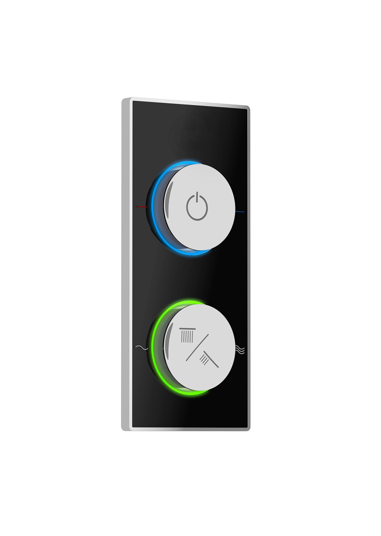 IQ Smart Shower Black Control 01 (web)