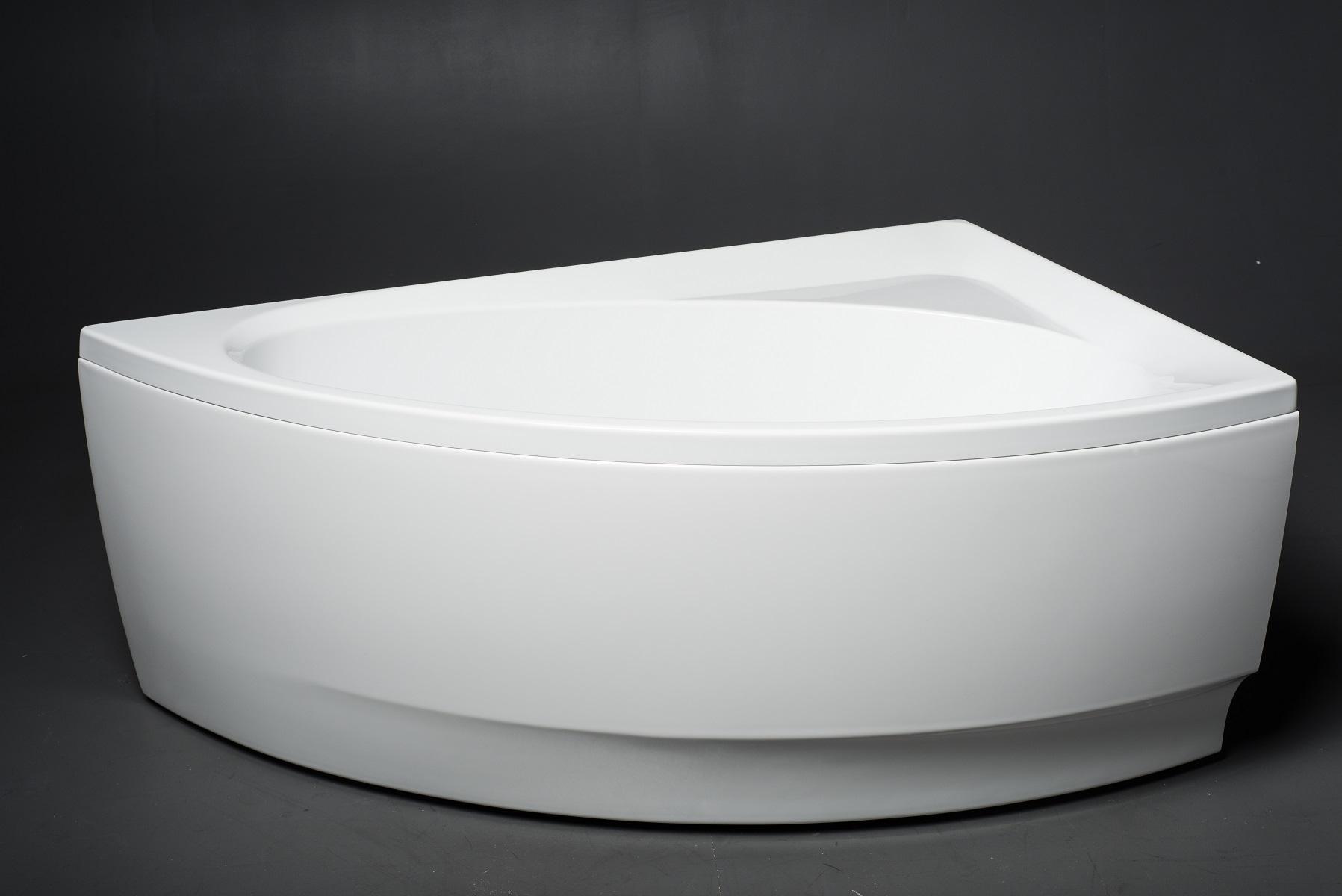 Idea-L-Wht, la vasca da bagno ad angolo di Aquatica in materiale ...