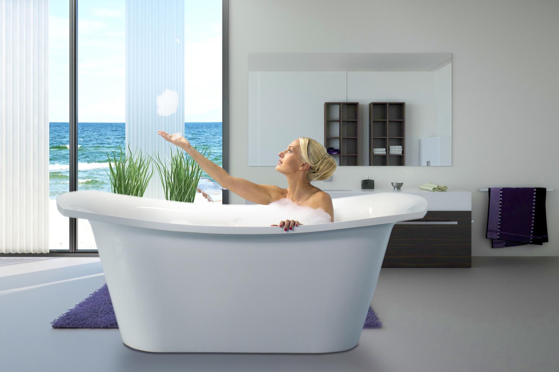 Vasche Da Bagno Jacuzzi Confronta Prezzi : Loveme wht la vasca da bagno freestanding aquatica in pietra