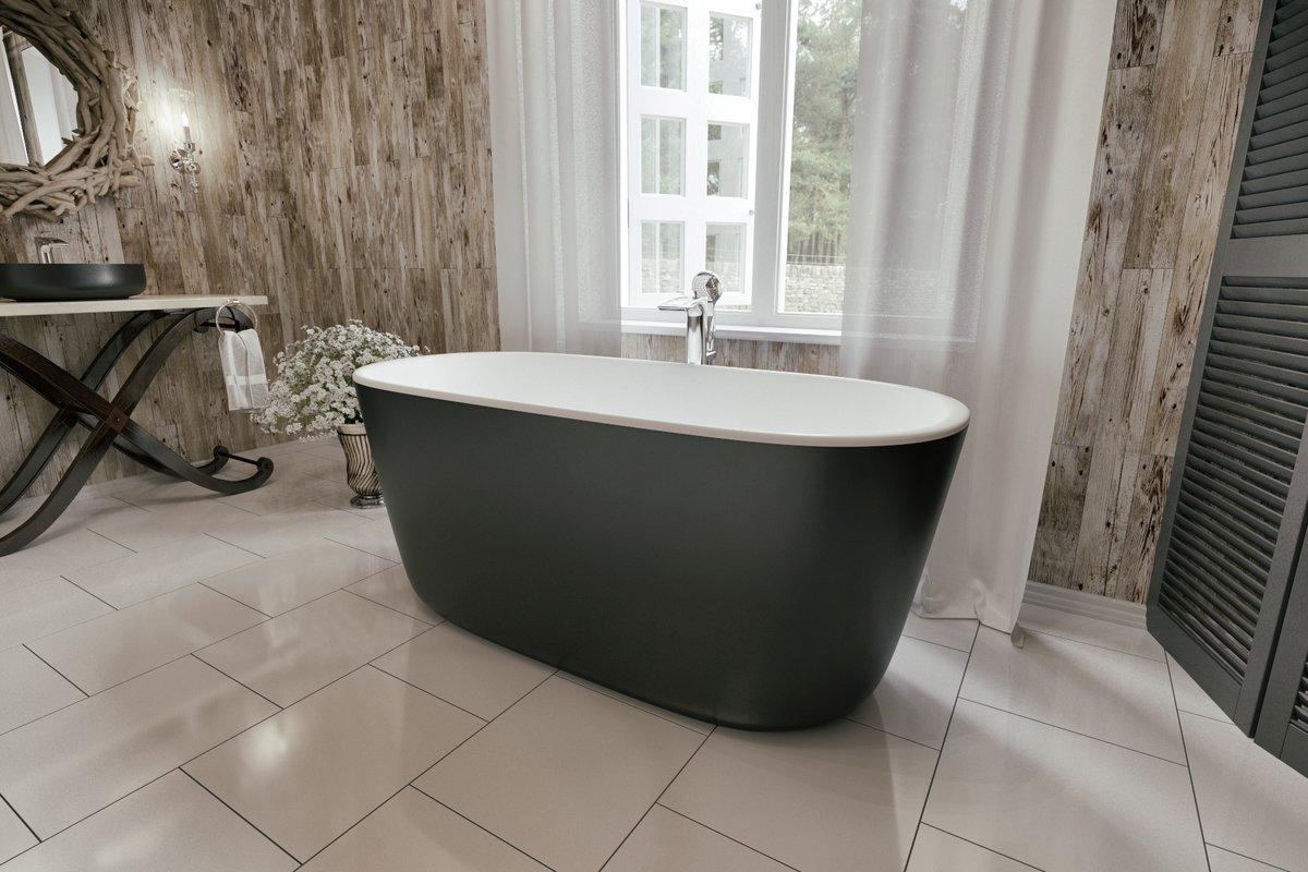 Dimensioni Mini Vasca Da Bagno : Lullaby mini blck la piccola vasca da bagno freestanding di
