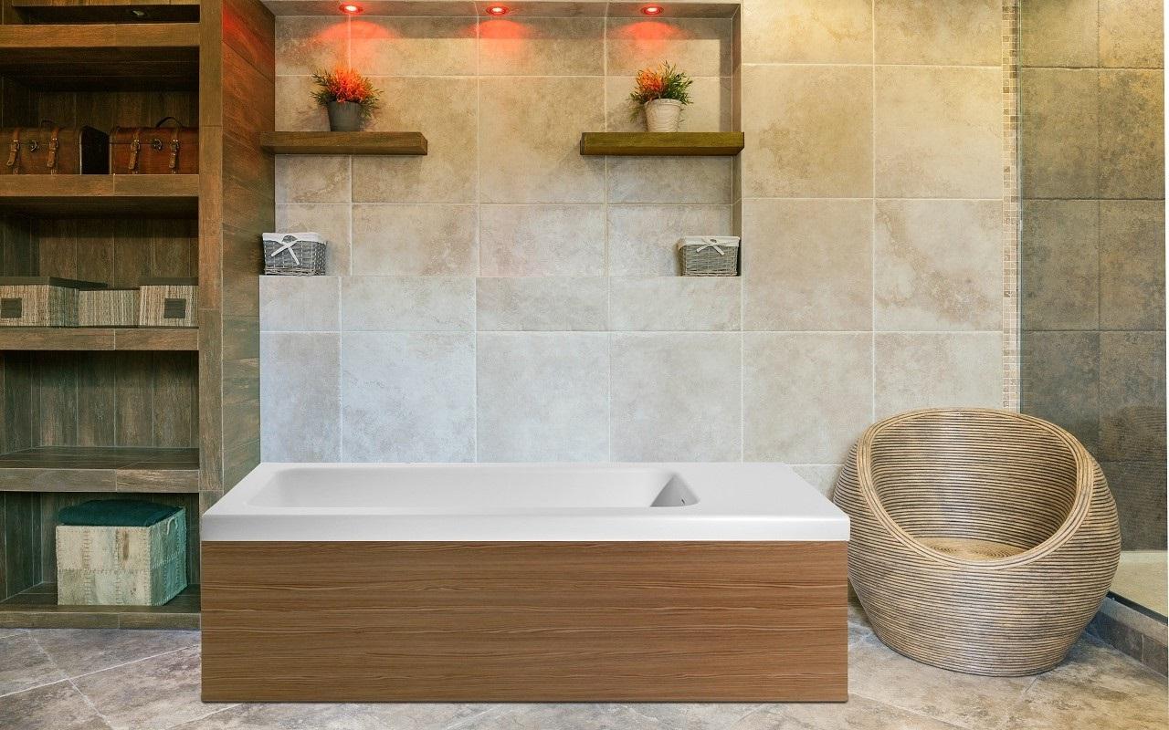 Vasca Da Bagno Con Pannelli : Pure 2l di aquatica la vasca da bagno freestanding in pietra con