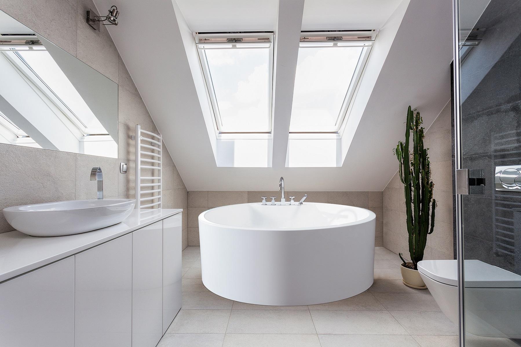 Vasca Da Bagno Freestanding Rotonda : Purescape™ a la vasca da bagno freestanding aquatica in