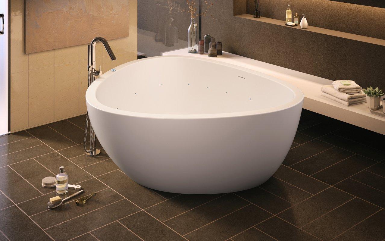 Vasca Da Bagno E Ciclo : Aquatica trinity m wht relax vasca da bagno in pietra leggera con